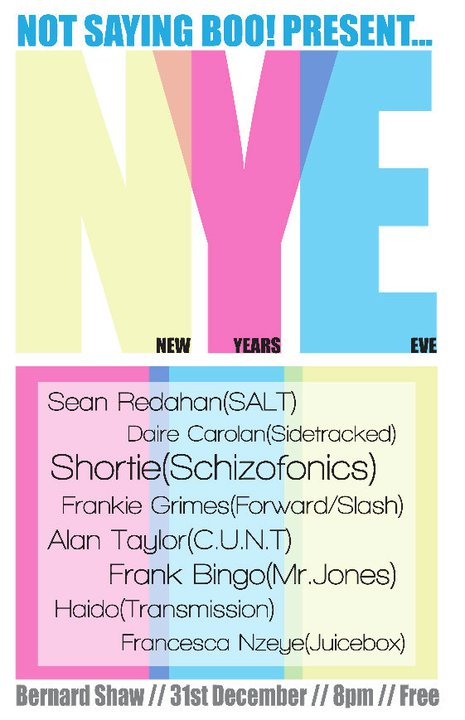 New Year's Eve at the Bernard Shaw